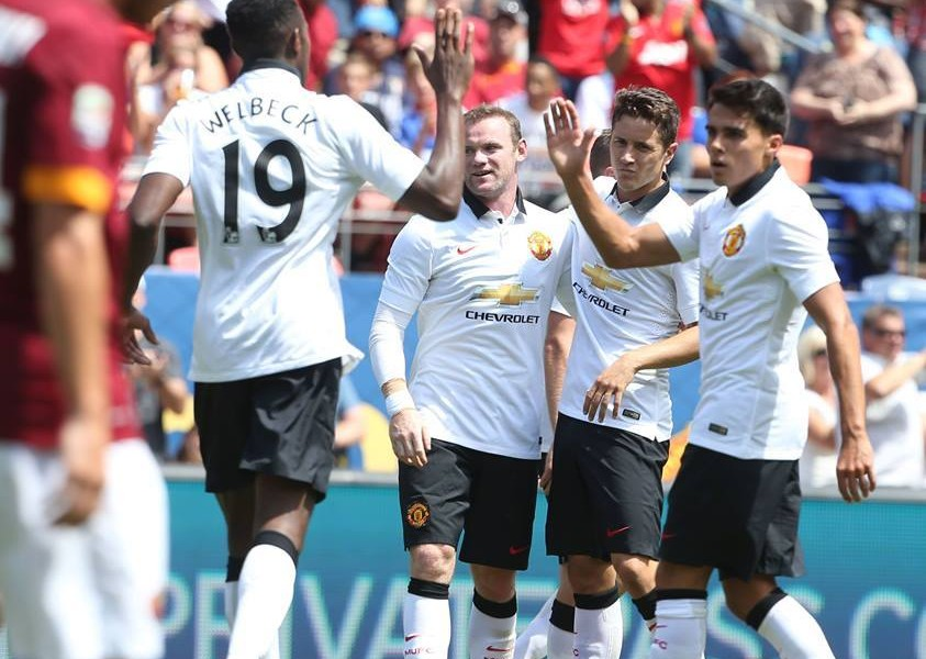 Tour 2014 | Manchester United 3 AS Roma 2