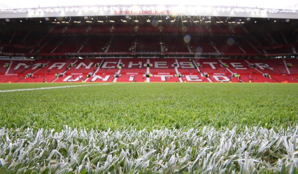 <> at Old Trafford on September 27, 2014 in Manchester, England.